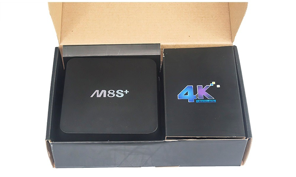 Комплектация M8S+