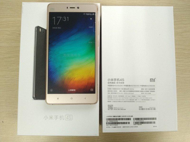 Комплектация Xiaomi Mi4s