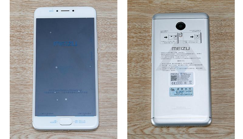 Дизайн Meizu M3 Note