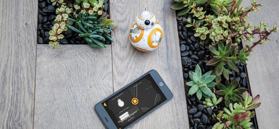 Комплектация Orbotix Sphero BB-8 StarWars Droid
