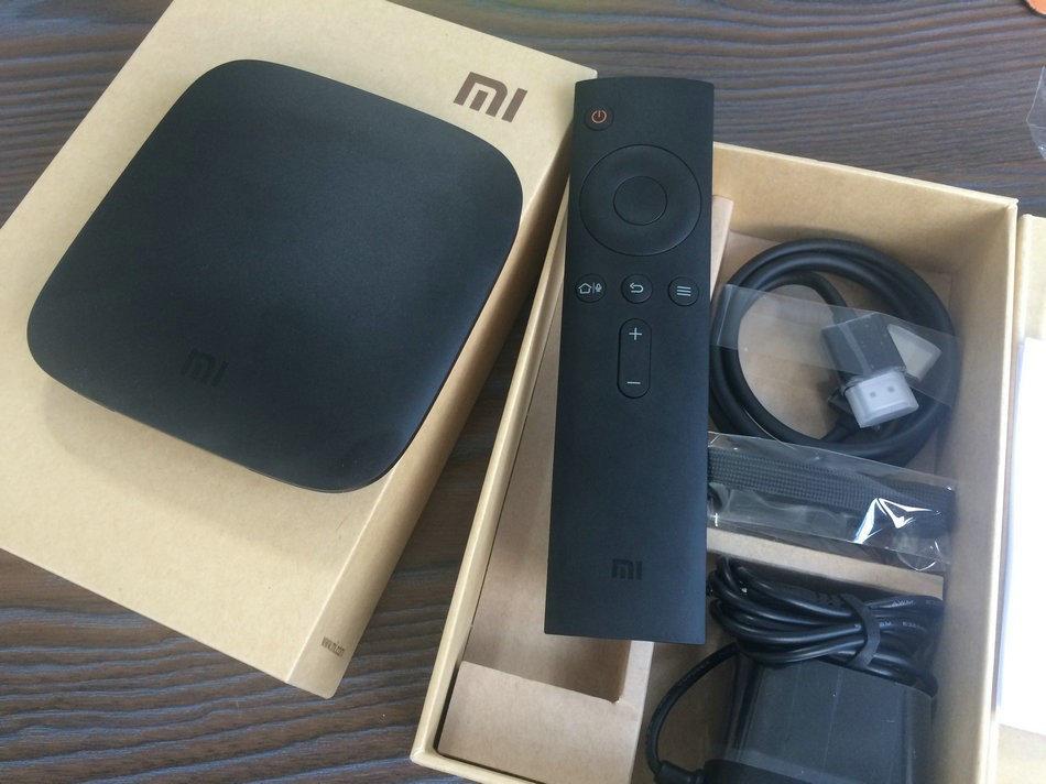 Xiaomi Mi Box 3 Box unpacking 2