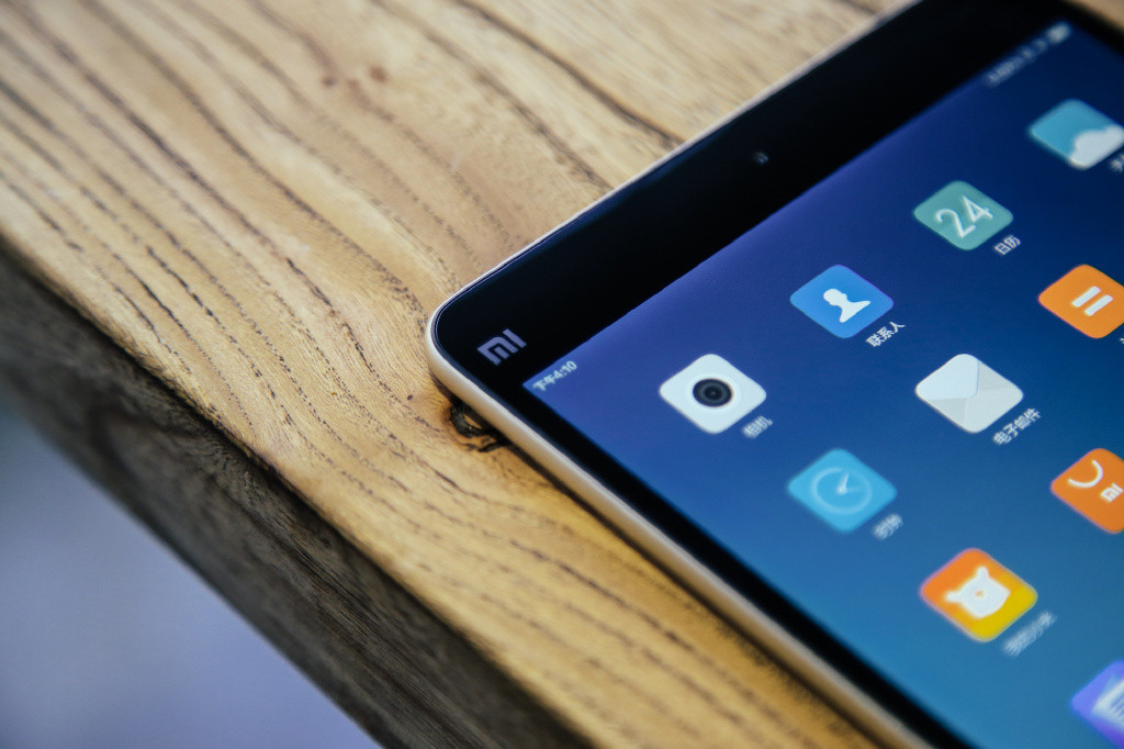 Дизайн Xiaomi mi pad 2