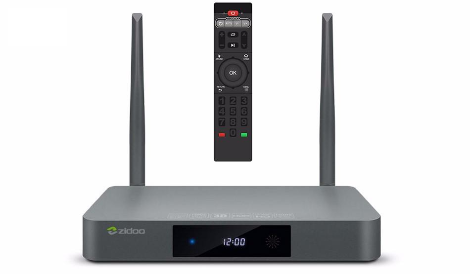 4K тв приставка ZIDOO X9S TV BOX