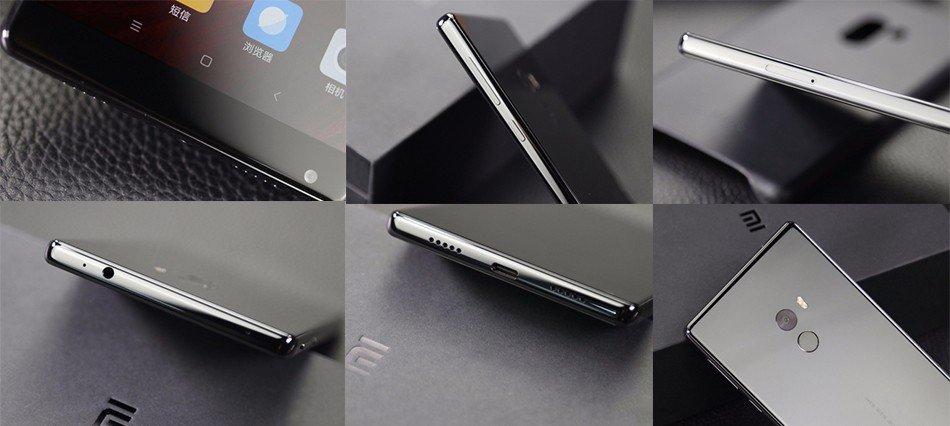 Дизайн Xiaomi Mi Mix