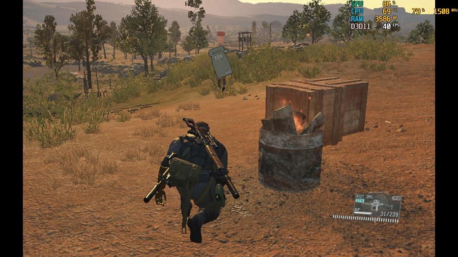 gpd win 2 Metal Gear Solid 5 The Phantom Pain