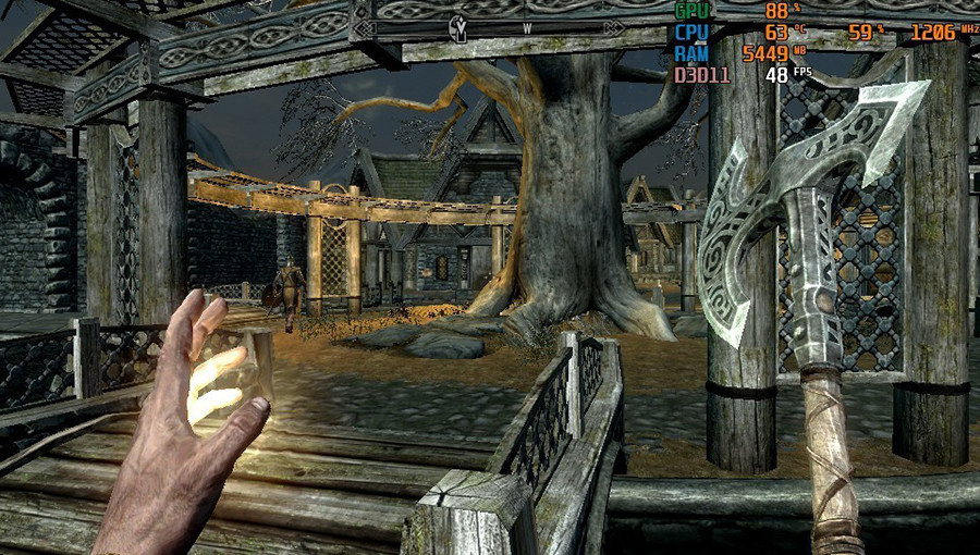 gpd win 2 Skyrim Special Edition