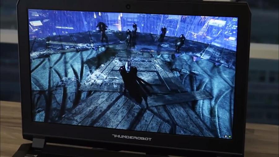 Игра в Assassins Creed на ThundeRobot ST Pro